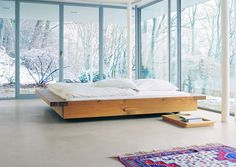 philippe allaeys 2001 e15 the bed frame is 2 38 inch thick and - Modern Queen Bed Frame