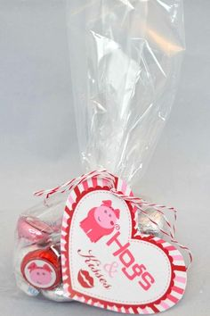 Hogs & Kisses Printable Valentine's Day Gifts
