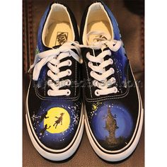 Custom Vans Low-top Painted Canvas Shoes Painted Canvas Shoes, Hand Painted Shoes, Design Your Own Shoes, Custom Vans, Paint Cans, On Shoes, Sneakers, Disney Ideas, Gifts