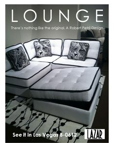 LOUNGE as shown right now in Las Vegas! #lvmkt at World Market Center B-0612