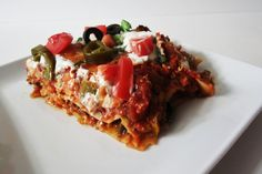 Yummy Taco Lasagna!  If you like tacos' you'll love this lasagna!