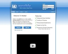 Weebly looks back on 10 years of Web design and its amazin