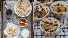 Ak hľadáte extra jednoduchý a rýchly dezert, ktorý nie je plný cukru a tuku, určite vyskúšajte tento recept. Oceníte ho napríklad aj ako chutnú desiatu pre vaše deti. Cooking Recipes, Healthy Recipes, Scones, Food Hacks, Nom Nom, Cupcakes, Yummy Food, Cookies, Eat