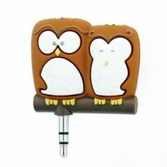Headphone Splitter (Owl)