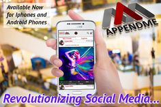 #AppendMe For #IOS - https://itunes.apple.com/us/app/appendme/id978665855?ls=1&mt=8 For #Android - https://play.google.com/store/apps/details?id=com.sws.appendme