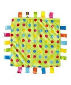 "Taggies ""Polka Dot"" Security Blanket / Lovie for Baby by Taggies, http://www.amazon.com/dp/B00DT4QRJW/ref=cm_sw_r_pi_dp_AFU2rb0EGETBB"