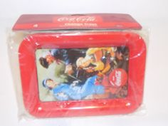 Set of coca cola trays new by LostInspiration on Etsy