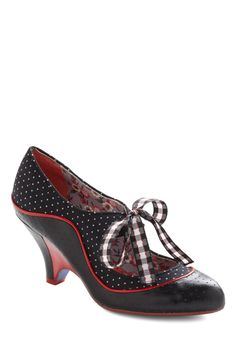 Poetic License Grand Prix Fixe Heel | Mod Retro Vintage Heels | ModCloth.com