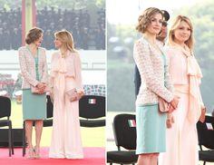 Resultado de imagen para vestidos de letizia reina de españa