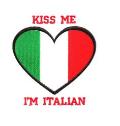 Kiss Me I'm Italian,and irish and indian with blonde hair n blue eyes :) #Nonelikeme