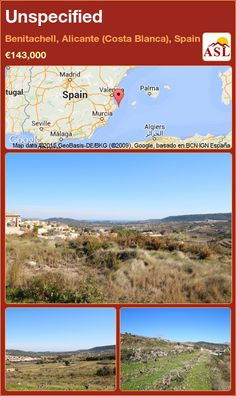 Unspecified for Sale in Benitachell, Alicante (Costa Blanca), Spain - A Spanish Life Murcia, Alicante, Spanish, Country, Life, Palmas, Rural Area, Spanish Language, Country Music