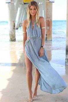 Khaleesi Inspired Beach Dress