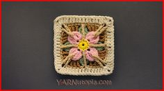 I created this In the GardenGranny Square design to add to our 365 Days of Granny Squares project. It uses variety ofcrochet stitches to create an interesting floral design!I hope you enjoy maki…