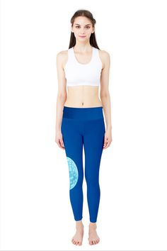 Jellyfish Yoga Leggings only $35 by designer Nikky Starrett  Free shipping on orders over $50!