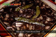 Dinuguan / Pork Blood Stew recipe #blackpudding