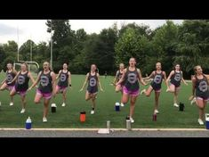 Stomp - YouTube Cheer Dance Routines, Cheer Moves, Cheer Workouts, Cheer Stunts, Varsity Cheer, Football Cheer, Basketball Cheers, Cheerleading Chants, Cheer Pictures