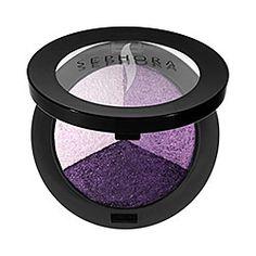 SEPHORA COLLECTION MicroSmooth Baked Eyeshadow Trio in 06 Ultraviolet - poppy purple #sephora