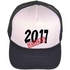 55b9b0e252a Black   White Trucker Hat - Trucker Cap - Class Of 2017 Trucker Hat -  Personalized Graduation Gift - Personalized Ball Cap - Girls or Guys by ...