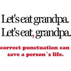teaching punctuation with humour!