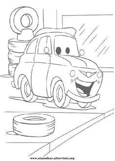 Free Printable Muscle Car Coloring Picture For Boys ...