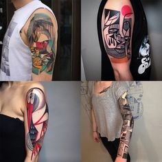 Based in a quiet undisclosed studio a short train ride outside of downtown Berlin, artist Peter Aurisch creates some of the most original tattoos in the city—and in a place with an estimated 2,000 tattoo artists, that's saying something. To keep his ideas fresh and original, Aurisch may only