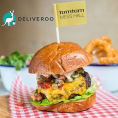 Order #Burgers at #TomtomMessHall or at #Deliveroo