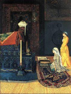 Osman Hamdi Bey | Tutt'Art@ | Pittura * Scultura * Poesia * Musica | http://es.pinterest.com/rutconx/orientalismo-2-pintura/
