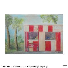 TOM'S OLD FLORIDA GIFTS Placemats