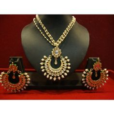 Design no. 18.230....Rs. 6700 - Online Shopping for Pendants by chaahat fashion jewellery