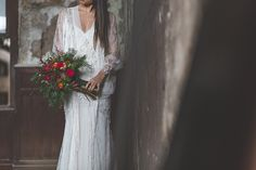 """Industrial"" Bridal Editorial by The Love Forest Carolina dress by #YolanCris #Inspiration #wedding #brides #weddingideas #weddinginspiration #deco #weddingdeco"
