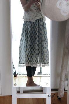 +簡単スカートの作り方 : neige+ 手作りのある暮らし