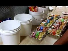 Food Storage: Knorr Rice Mixes in 2 Gallon Buckets for Long Term  -- some interesting/important steps I had not thought of!