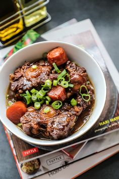 Asian Style Braised Ox Tail