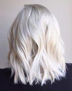 White Blonde Hair Color Inspirational 7 Platinum Blonde Hair Color Looks We Love - Platinum Blonde Hair Color, White Blonde Hair, Blonde Color, Platnium Blonde Hair, Ash Blonde, Hair Colour, Growing Out Platinum Hair, Bright Blonde Hair, Short Blonde