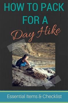 When you're #hiking, it's important to pack well. Even a day trip requires certain essential items! Never be without these!