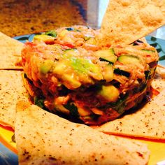 Food Fitness by Paige: Homemade Tortilla chips!