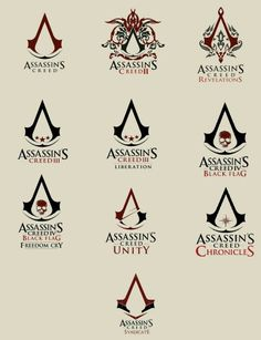 logos assassins creed