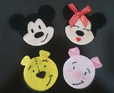 Posavasos de personajes de Disney totalmente personalizables.