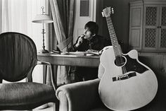 Bent Rej, Keith Richards at Home II, London, 1965