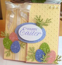Easter Blossom. Just A Thought... Cards by Amy: Stampin Pretty Easter Parade!!