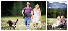 Banff Engagement Portrait session, Engagement photos with dogs, Banff wedding Photographer, www.kimpayantphotography.com