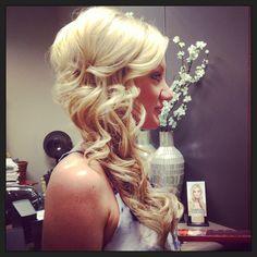 Bridal hair http://prettyweddingidea.com #trending visit link to see full article