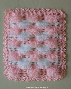This model will be a very nice choice for your baby. By examining the picture, you can knit it to your own baby. Crochet Blanket Patterns, Baby Knitting Patterns, Baby Blanket Crochet, Crochet Baby, Scarf Patterns, Thread Crochet, Crochet Doilies, Crochet Stitches, Filet Crochet