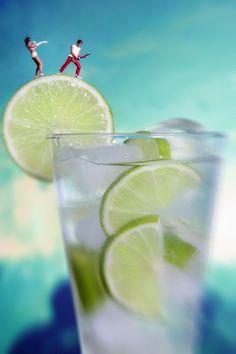Lemon Rock Drink by William Kass