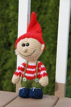 Sale 20 Amigurumi crochet Gnome / Elf by Keepandcherish on Etsy, $44.99