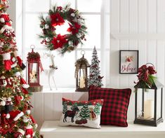 Find more information on DIY Christmas Projects Christmas Lodge, Cottage Christmas, Christmas Mood, Plaid Christmas, Christmas Lights, Christmas 2017, Christmas Projects, Christmas Ideas, Diy Christmas Decorations For Home