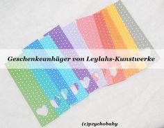 Geschenkanhänger von Leylahs-Kunstwerke