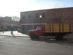 Standing on the corner in Winslow, AZ