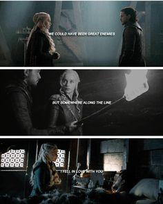 #daenerystargaryen #JonSnow #Jonerys #GameofThrones #asoiaf Game Of Thrones Jaime, Game Of Thrones Prequel, Game Of Thrones Books, Game Of Thrones Funny, Got Dragons, Mother Of Dragons, Kit And Emilia, Jon Snow And Daenerys, Tragic Love Stories