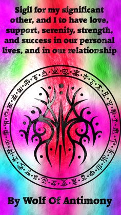 my significant other and i to have love, support, serenity, strength, and success in our personal lives and in our relationship Wiccan Symbols, Magic Symbols, Symbols And Meanings, Spiritual Symbols, Magick Book, Magick Spells, Witch Spell Book, Wiccan Magic, Practical Magic
